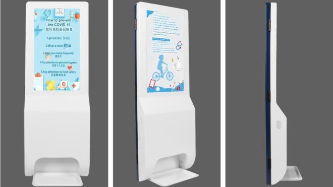 Digitaalsed kätepesukioskid rakendatakse koronaviiruse vastu võitlemise vankri ette