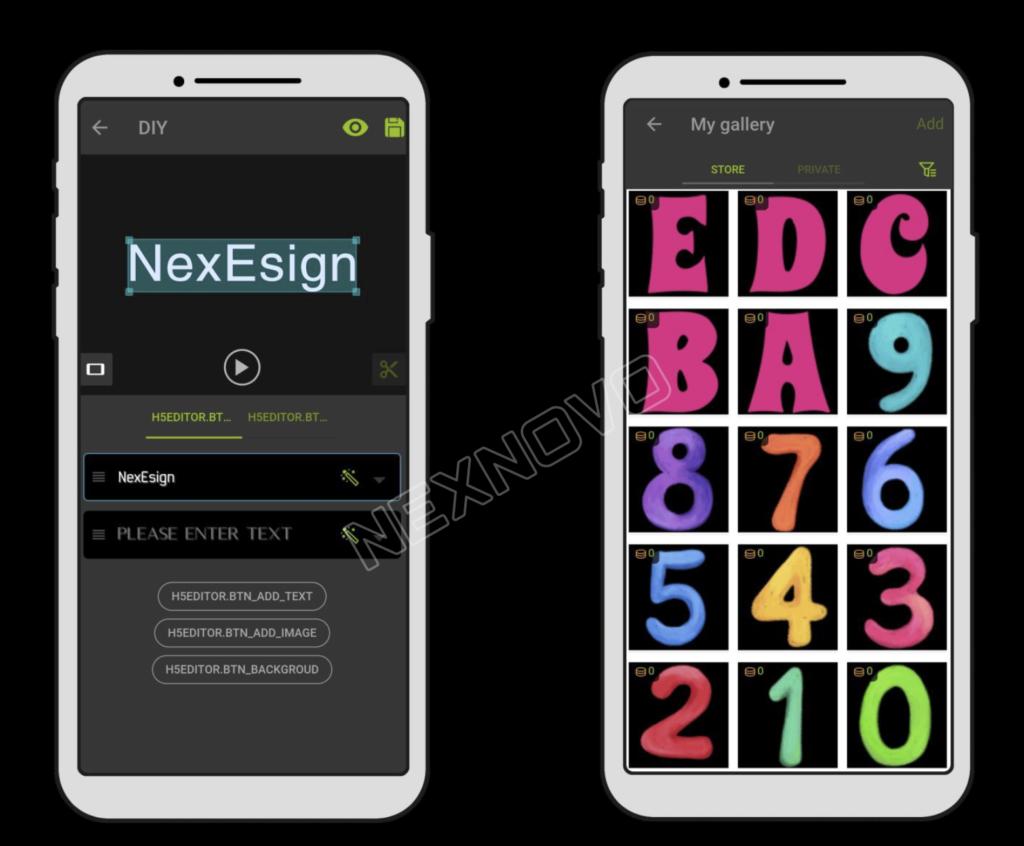 NexeSign-app-rakendus