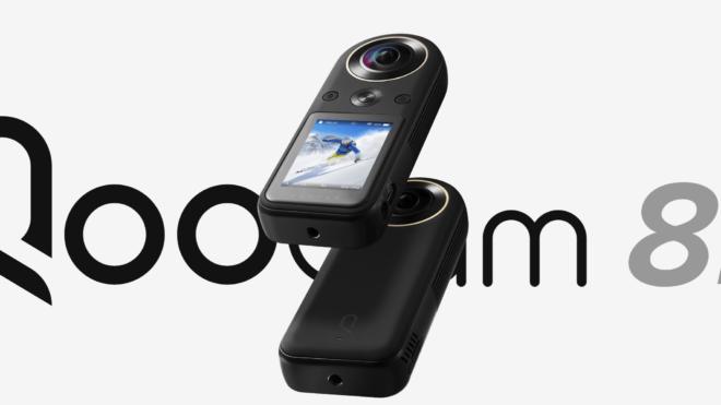 Maailma väikseim 8K-resolutsiooniga 360 kaamera - QooCam 8K