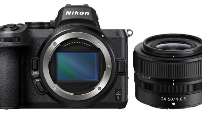 MOVE INTO FULL-FRAME MIRRORLESS WITH THE NEW NIKON Z 5 AND NIKKOR Z 24-50MM F/4-6.3