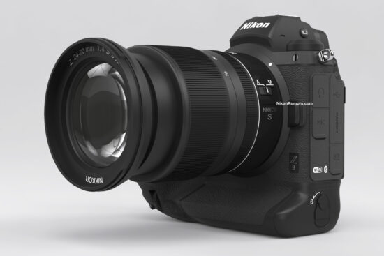 Nikoni-Z9-peeglita-kaamera