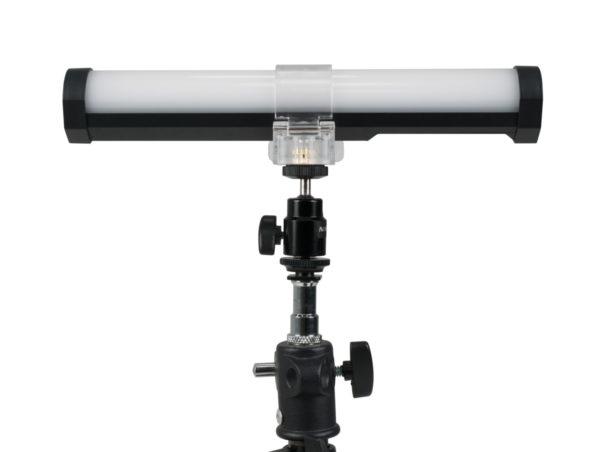 NANLITE-T12-Tube Holder-With-Mini-Ball-Head