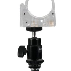 NANLITE-T12-Tube Holder-With-Mini-Ball-Head