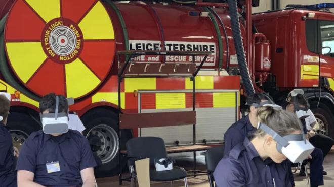 Virtuaalreaalne tuletõrjeõppus on ohutu ja praktiline õppevahend