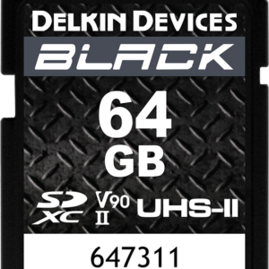 64GB-DELKIN-SD-BLACK-Rugged-R300/W250