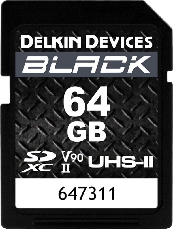 64GB-DELKIN-SD-BLACK-Rugged-R300/W250