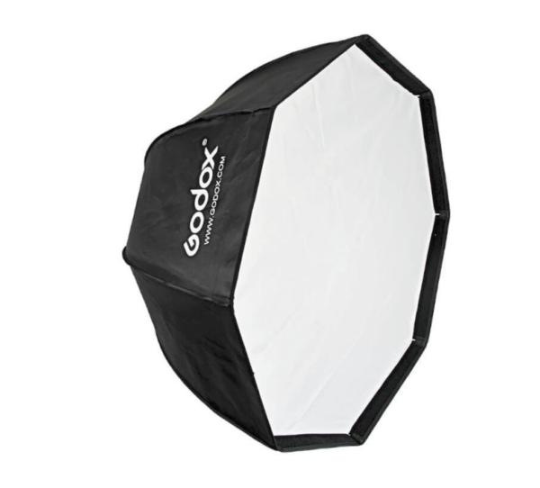 Softbox-GODOX-SB-GUE95 umbrella style with-grid-with-bowens-mount-Octa-95cm