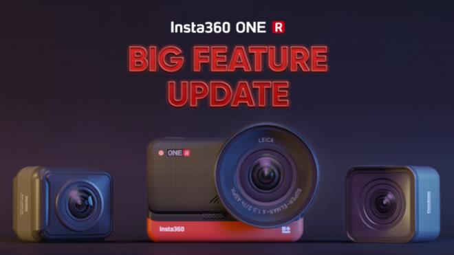 Insta360 ONE R-i funktsioonide suur uuendus: uus horisondilukustus, ülesalvestav pidevjäädvustamine ja palju muud