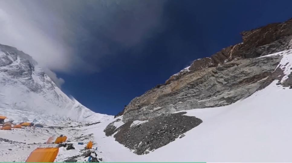 Pilot-Lock-360°-reaalajas voogedastus-Mount-Everesti-baaslaagris