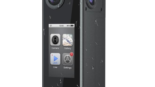 Avatud süsteemiga nutikas 8K 360° kaamera