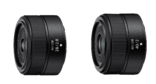 Nikon laiendab Z-tüüpi objektiivivalikut, arendades välja objektiivid NIKKOR Z 28mm f/2.8 ja NIKKOR Z 40mm f/2