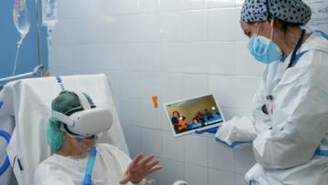 Intensiivravi osakonna COVID-19 patsientide taaskohtumine peredega virtuaalreaalsuse kaudu