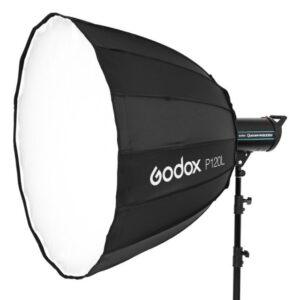 Godox-P120L-Parabolic-hexadecagon-softbox-with-bowens-mount-120cm