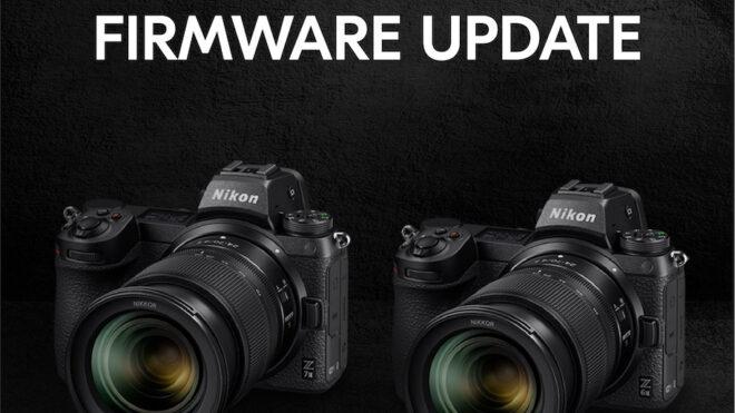 Nikon Z 6II ja Z 7II püsivarauuendus 1.30
