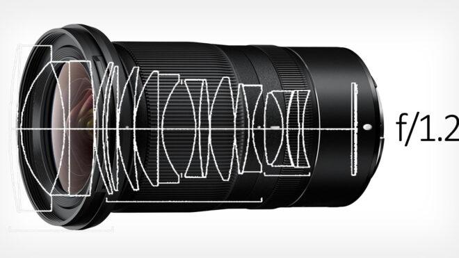 Nikoni disainis kaks f/1.2 suumobjektiivi: 35–50 mm ja 50–70 mm